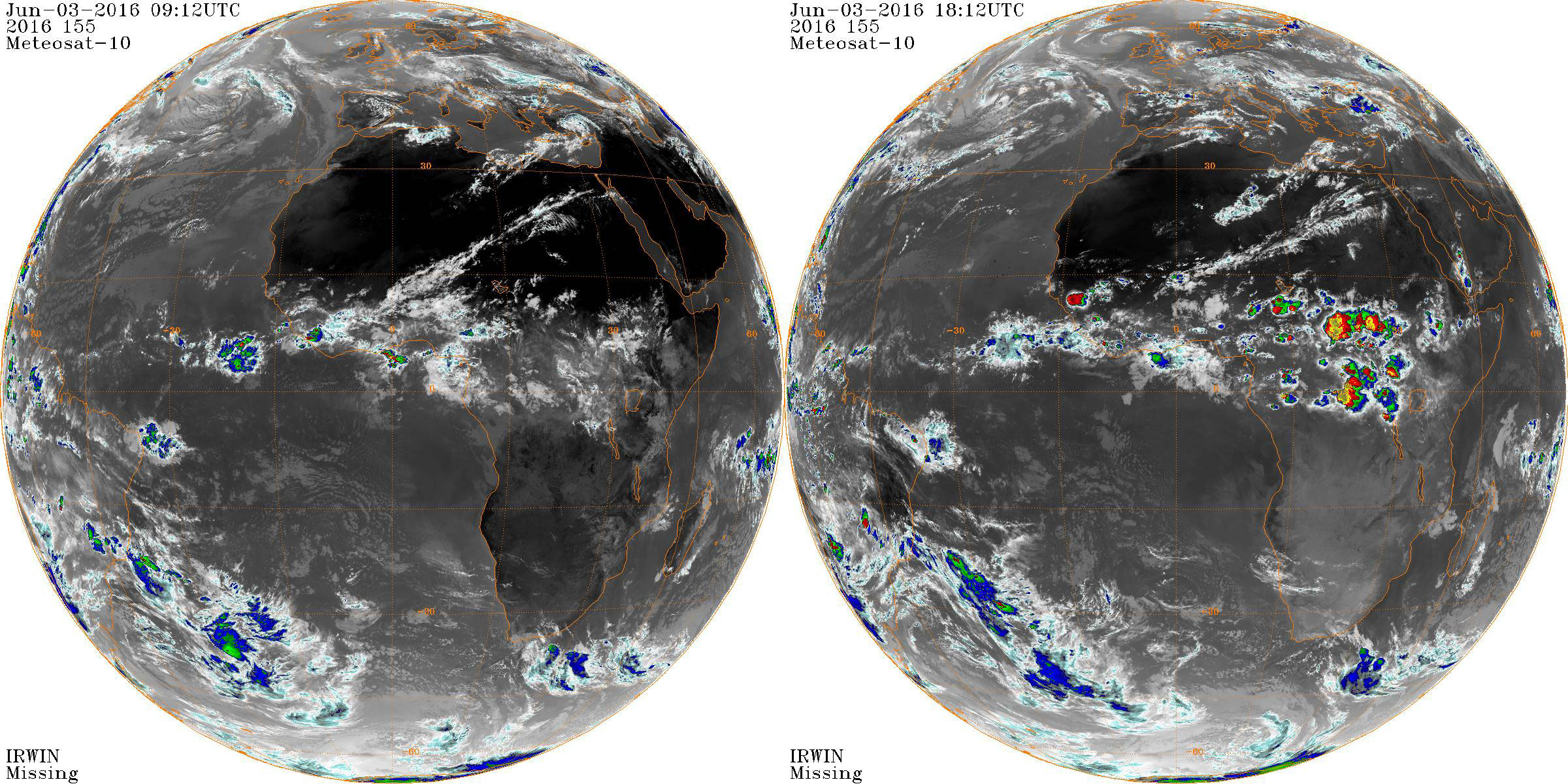Meteosat: Full Disc